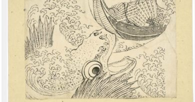 A treasure trove of 103 'lost' drawings by Hokusai emerges in the Piasa auction house in Paris